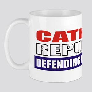 Catholic Republican (10x3) Mug