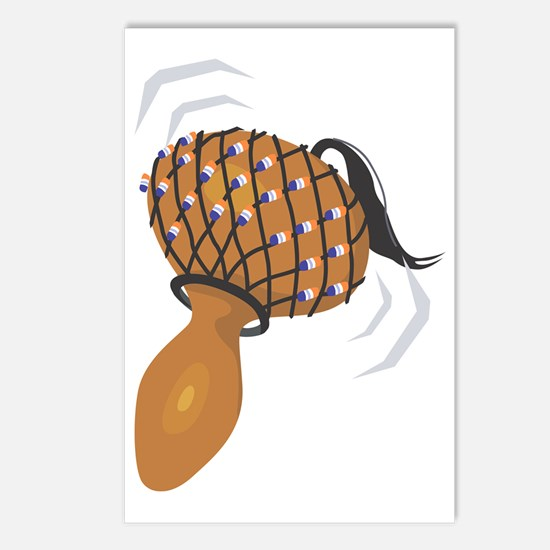 gourd rattles Postcards (Package of 8)