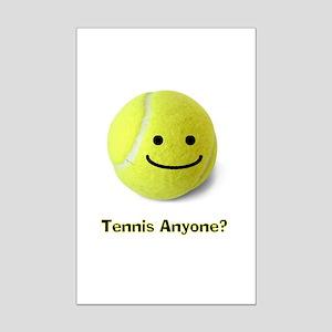 Tennis anyone? Mini Poster Print