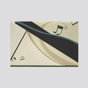 Piano Rectangle Magnet