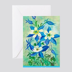 Columbineforgiving Greeting Card