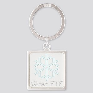 Winter FTF Square Keychain