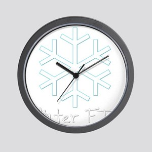 Winter FTF Wall Clock