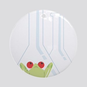 Glassware Round Ornament