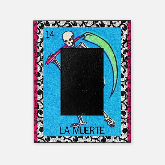 lamuerte9by12doubleborder Picture Frame