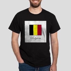 Belgium - Flag Dark T-Shirt