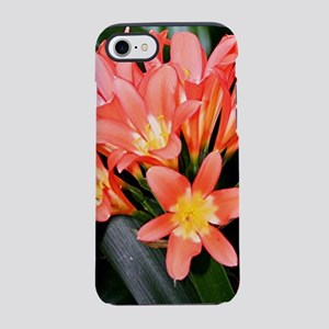 Clivia flowers in bloom iPhone 7 Tough Case