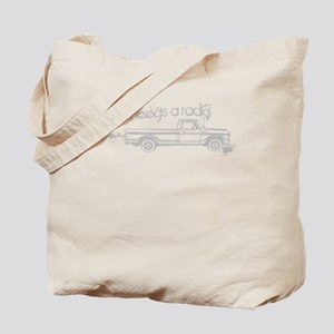 TWWhoNeedsARadioW Tote Bag