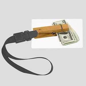 MoneyReminder080209 Large Luggage Tag
