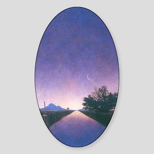 mp_post4 Sticker (Oval)