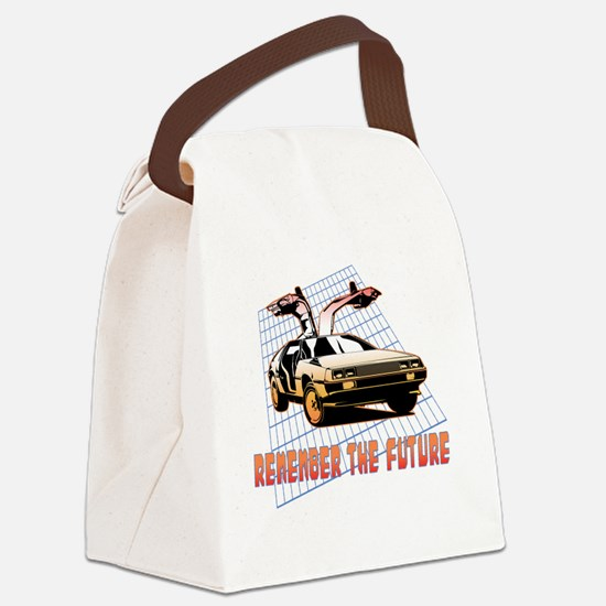Remember the Future Canvas Lunch Bag