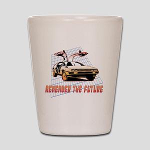 Remember the Future Shot Glass