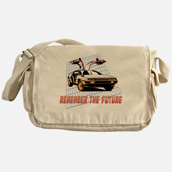Remember the Future Messenger Bag