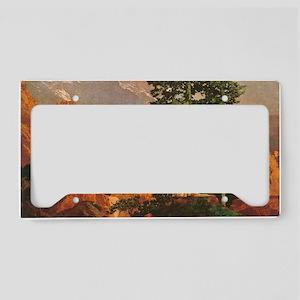 mp_post6 License Plate Holder