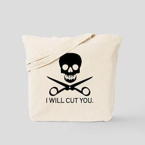 Beauty Shop Pirate 1 Tote Bag