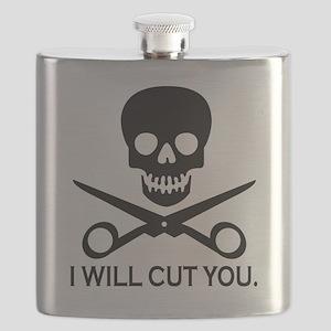 Beauty Shop Pirate 1 Flask