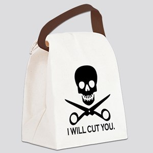 Beauty Shop Pirate 1 Canvas Lunch Bag