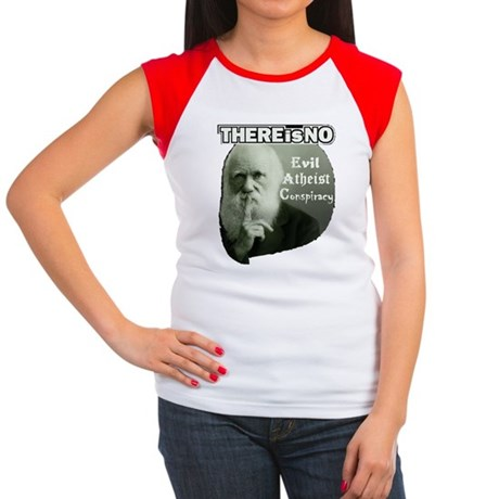 DarwinTee7 Women's Cap Sleeve T-Shirt