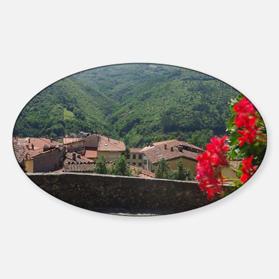 Hilltop Village Sticker (Oval)
