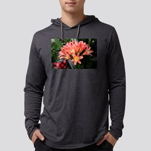 Clivia flowers in bloom Long Sleeve T-Shirt