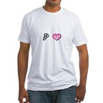 Screw Love Fitted T-Shirt