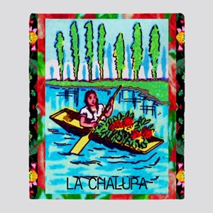 lachalupa9by12doubleborder Throw Blanket