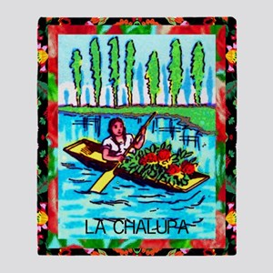 lachalupa23by35poster Throw Blanket