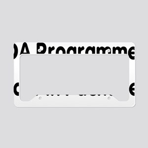 ADA Programmers Do It In Pack License Plate Holder
