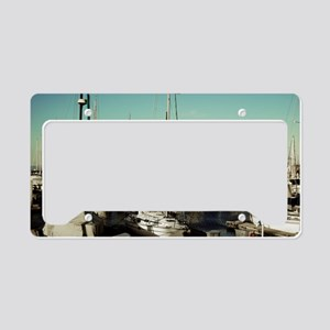 Monterey Bay Marina License Plate Holder