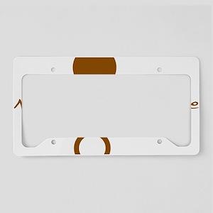 Symbol_Brw_Nude_Hom_WVert License Plate Holder