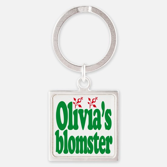 olivias_2000 Square Keychain