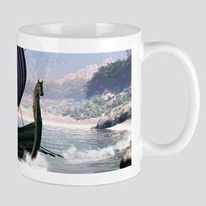 Wonderful longboat, vikking ship Mugs