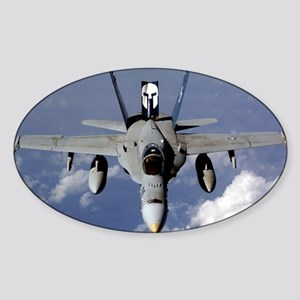 VMFA 212 F18C LANCER 00 Sticker (Oval)