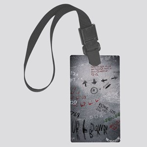 poster 7 cheats smaller Large Luggage Tag