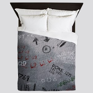 poster 7 cheats smaller Queen Duvet