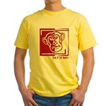 Year of the Monkey Yellow T-Shirt
