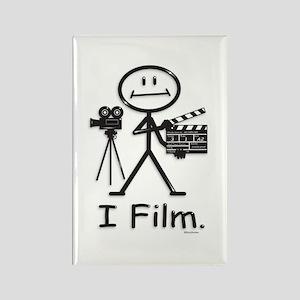 Filmmaker Rectangle Magnet