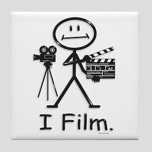 Filmmaker Tile Coaster