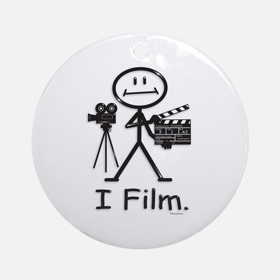 Filmmaker Ornament (Round)