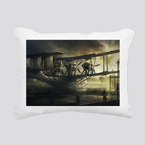 2-Low Tide A3 Rectangular Canvas Pillow