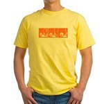 Orange Thrust Yellow T-Shirt