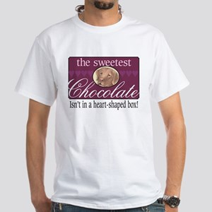 The sweetest chocolate! White T-Shirt