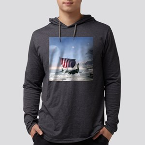 Wonderful longboat, vikking ship Long Sleeve T-Shi