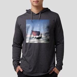 Wonderful longboat, vikking ship Long Sleeve T-Shi