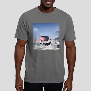 Wonderful longboat, vikking ship T-Shirt