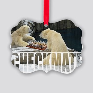 polar game Picture Ornament