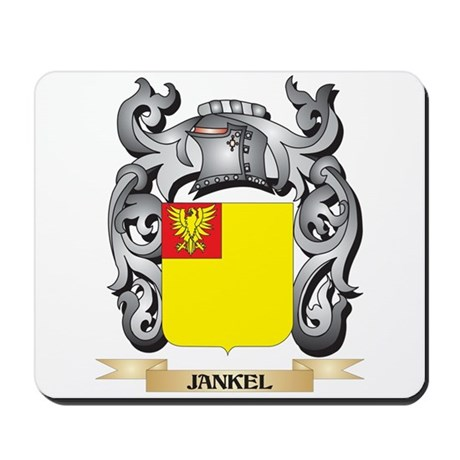 Jankoff Coat of Arms - Family Crest Mousepad