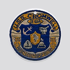 cromwell patch transparent Round Ornament