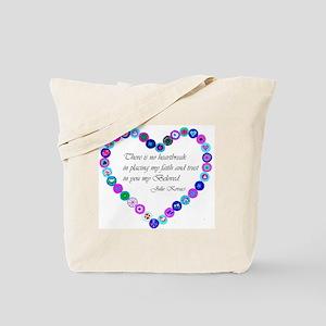 millefiori_heart Tote Bag