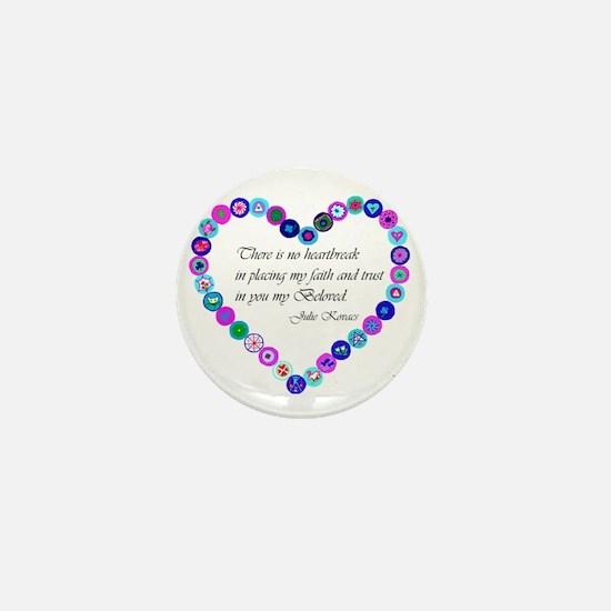 millefiori_heart Mini Button